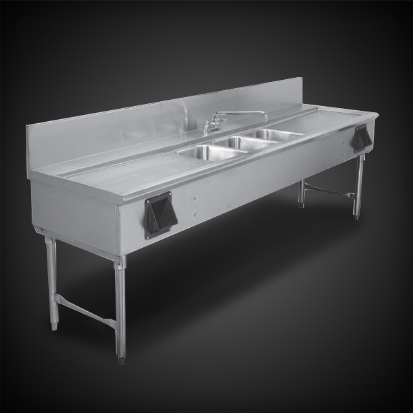 Infinity Stainless Products 3 bowl sink
