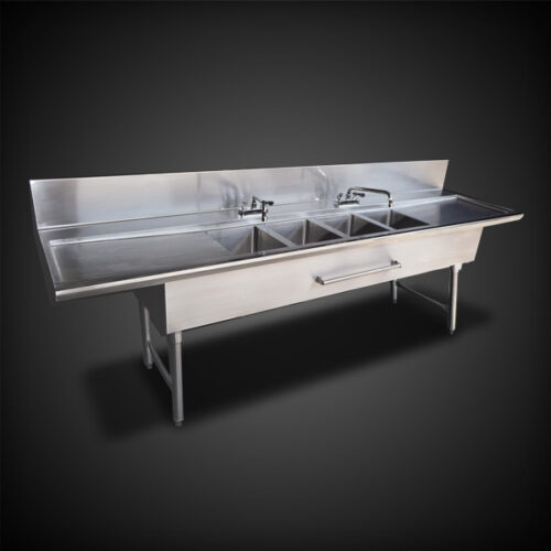 Infinty Stainless Products 4 bowl sink