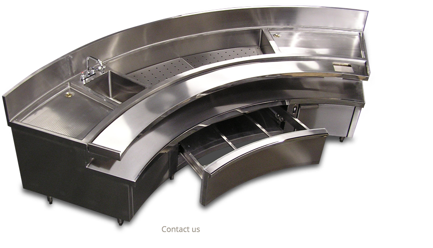 Infinity Stainless Products Architectrual and Custom Equipment