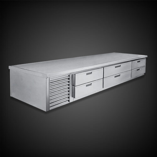 "Infinity Stainless Products 21"" Low Height with Drawers"