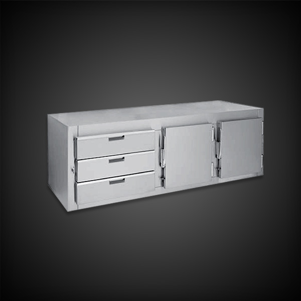 """Infinity Stainless Products 30"""" Counter High combo"""