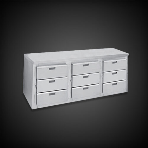 infinity 30 inch counter high with drawers