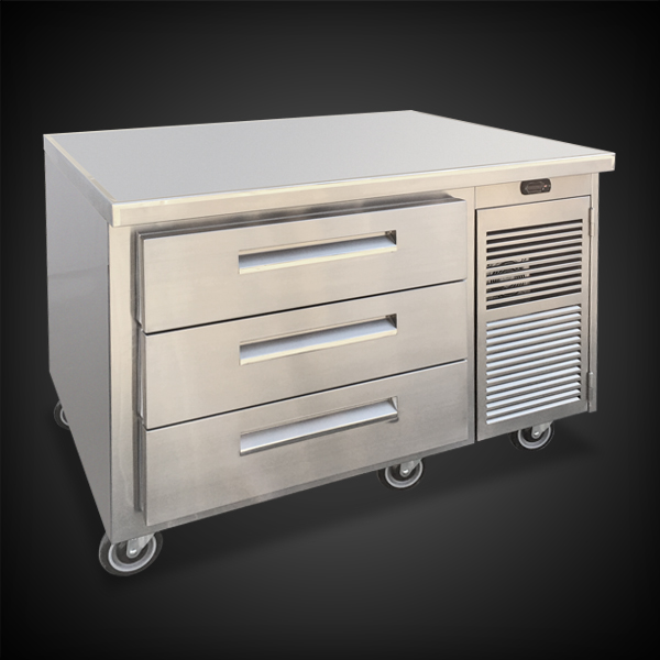 "30"" counter high with drawers – infinity stainless products 30 inch high file cabinet"